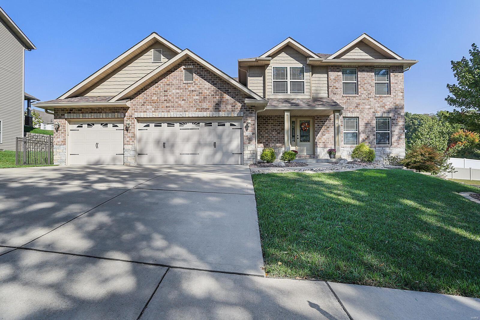 105 Meridian Oaks Drive, Glen Carbon, IL 62034 - #: 21071688