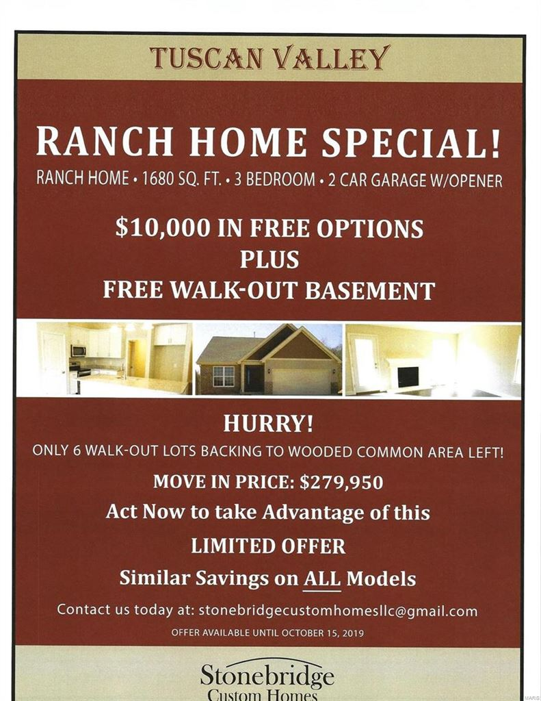 3137 Tuscan Valley Estates Court, Arnold, MO 63010 - MLS#: 17002696