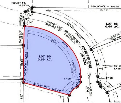 Tiny photo for 611 (Lot 80) Winged Foot Court #80, Washington, MO 63090 (MLS # 18021707)