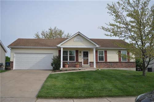 Photo of 526 White Fence Drive, Wentzville, MO 63385 (MLS # 21028715)