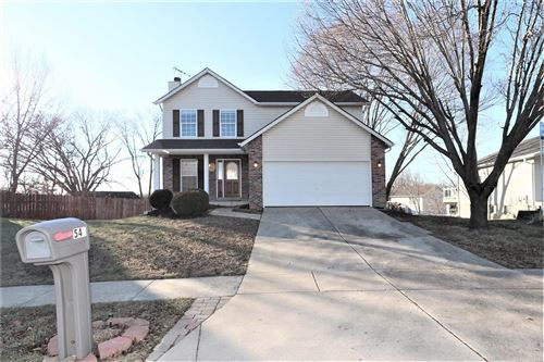 Photo of 543 White Fence Drive, Wentzville, MO 63385 (MLS # 20000784)