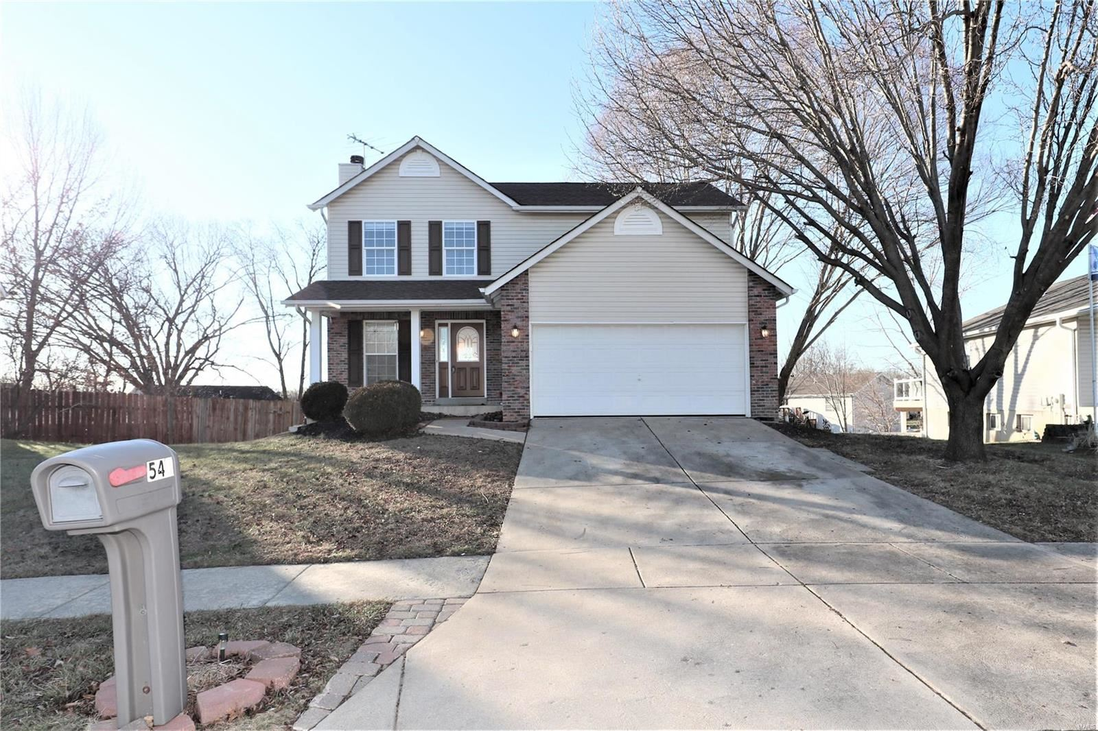 543 White Fence Drive, Wentzville, MO 63385 - MLS#: 20000784