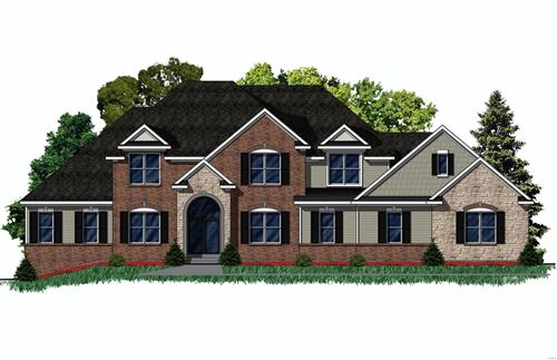 Photo of 13221 Stone Ct TBB (Lot 1), Town and Country, MO 63131 (MLS # 20087836)