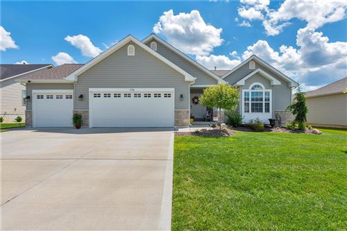 Photo of 694 Lost Canyon, Wentzville, MO 63385 (MLS # 20043867)