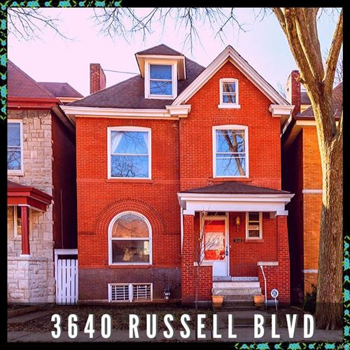 Photo of 3640 Russell Boulevard, St Louis, MO 63110 (MLS # 19087914)