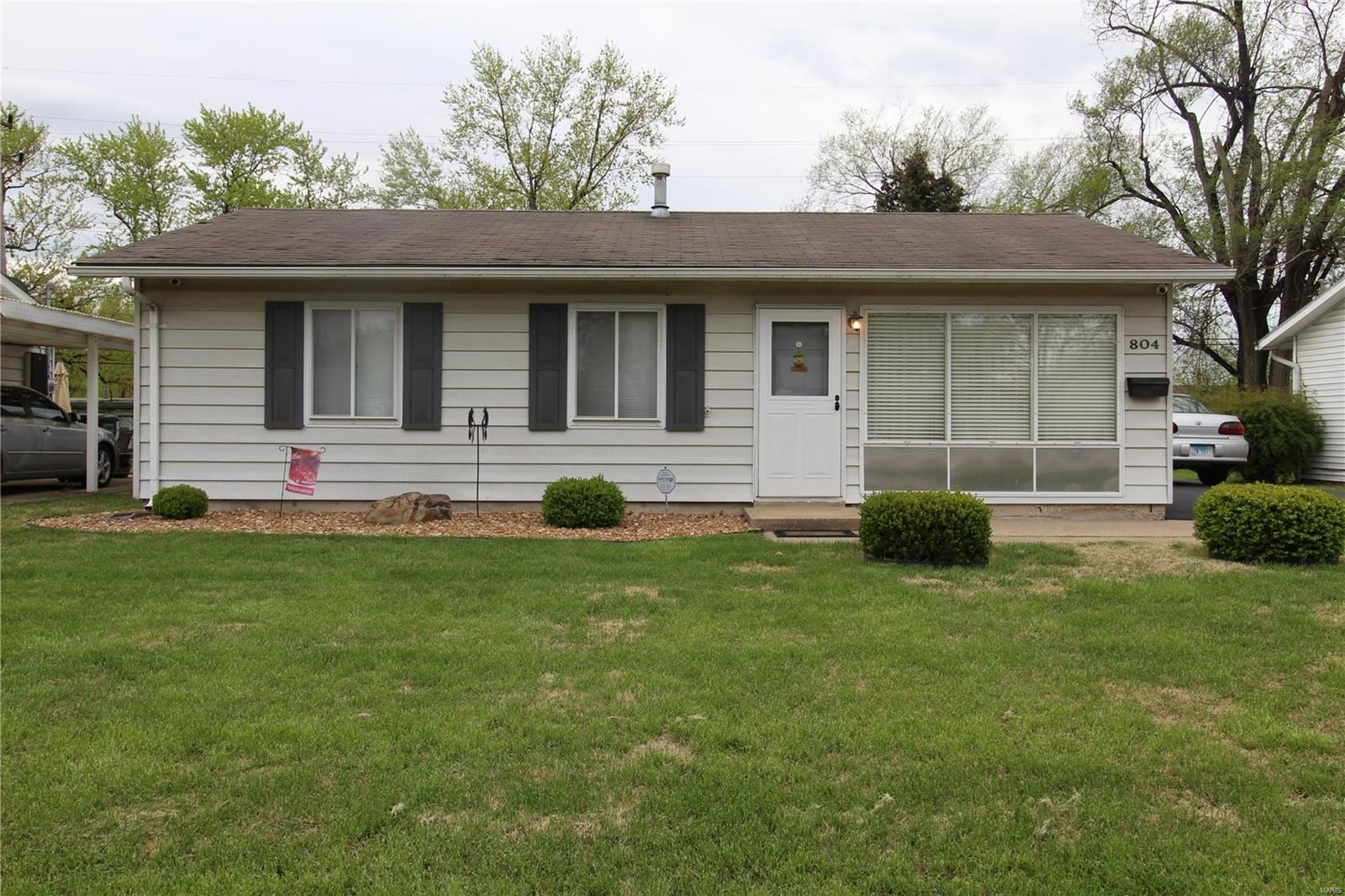 804 Saint Thomas Lane, Cahokia, IL 62206 - MLS#: 20024978