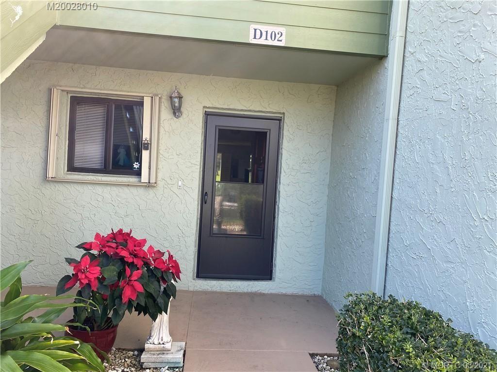 5443 SE Miles Grant Road #D102, Stuart, FL 34997 - MLS#: M20028010