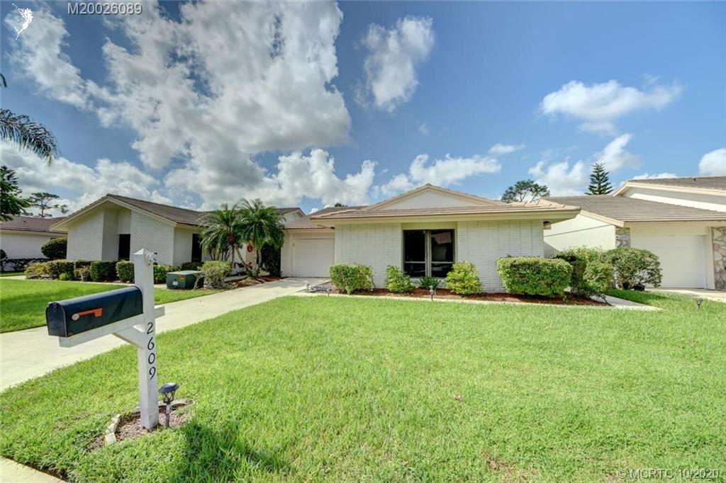 2609 SW Egret Pond Circle, Palm City, FL 34990 - #: M20026089