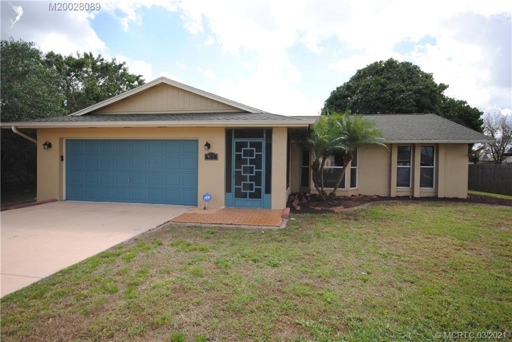 972 SW Butterfly Terrace, Port Saint Lucie, FL 34953 - MLS#: M20028089