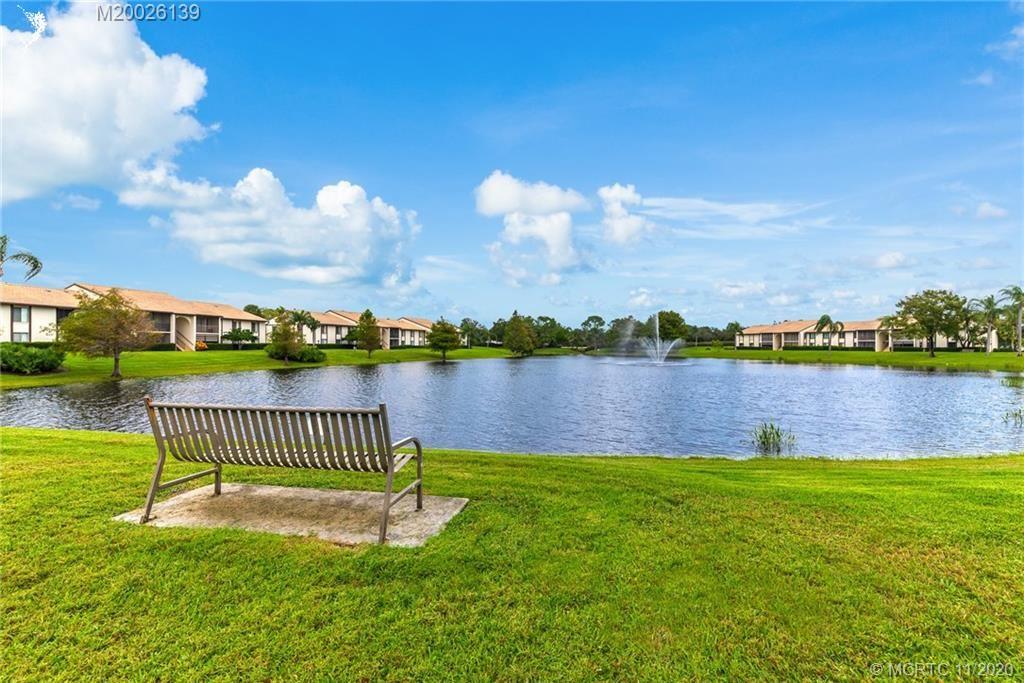 2703 SW Matheson Avenue #116-E1, Palm City, FL 34990 - MLS#: M20026139
