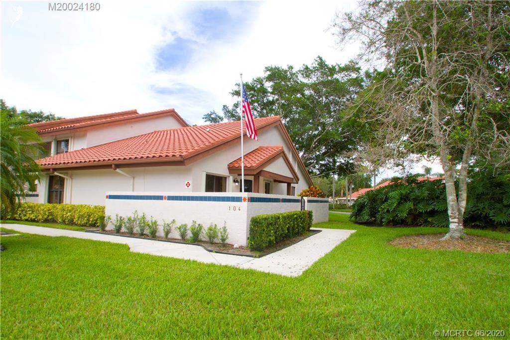 6131 SE Martinique Drive #104, Stuart, FL 34997 - #: M20024180
