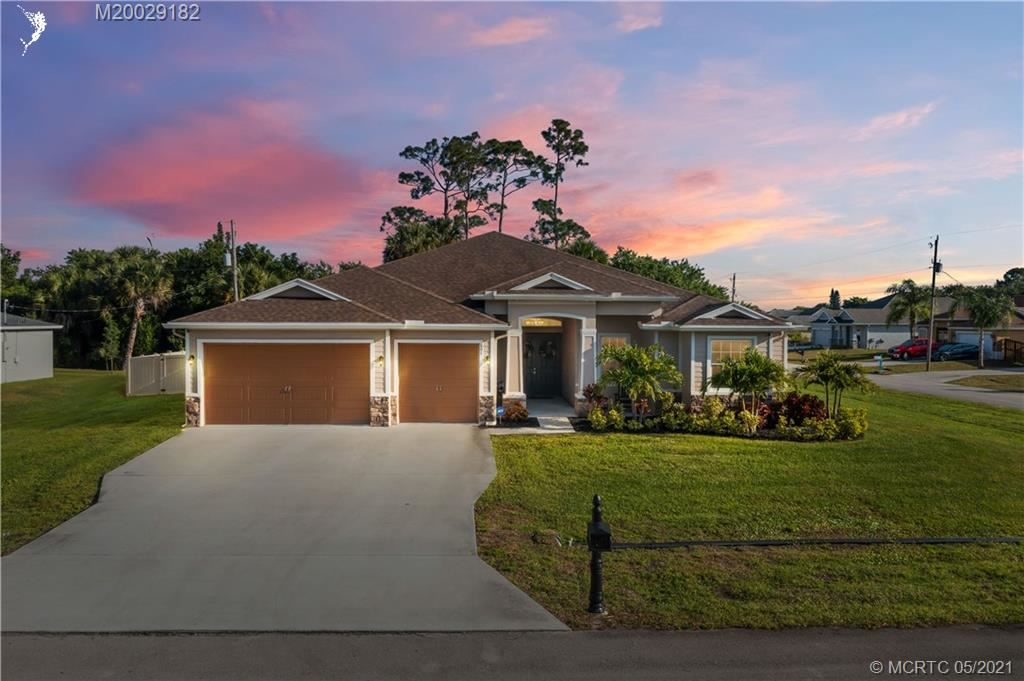 601 SW Gailbreath Avenue, Port Saint Lucie, FL 34953 - #: M20029182