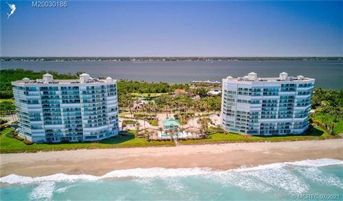 Photo of 8650 S Ocean Drive #304, Jensen Beach, FL 34957 (MLS # M20030186)