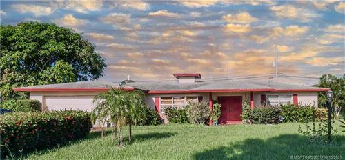Photo of 2609 Chesterfield Drive, Fort Pierce, FL 34982 (MLS # M20031199)