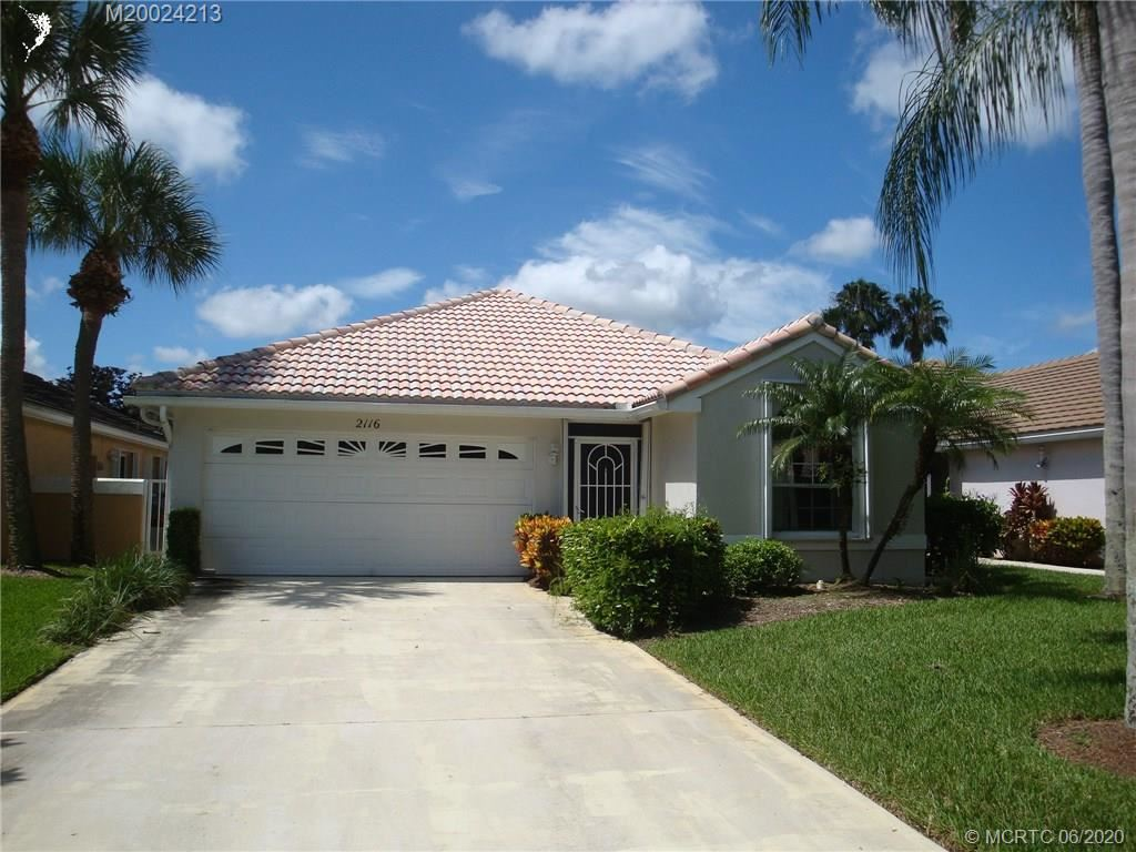 2116 SW Augusta Trace, Palm City, FL 34990 - #: M20024213