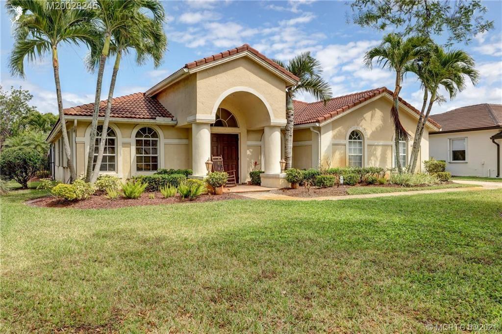Photo of 5051 SW Hammock Creek Drive, Palm City, FL 34990 (MLS # M20028245)