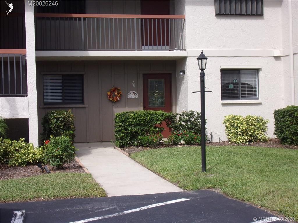 1600 NE Dixie Highway NE #11-103, Jensen Beach, FL 34957 - #: M20026246