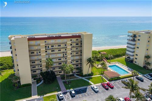 Photo of 7430 S Ocean Drive #418, Jensen Beach, FL 34957 (MLS # M20029254)