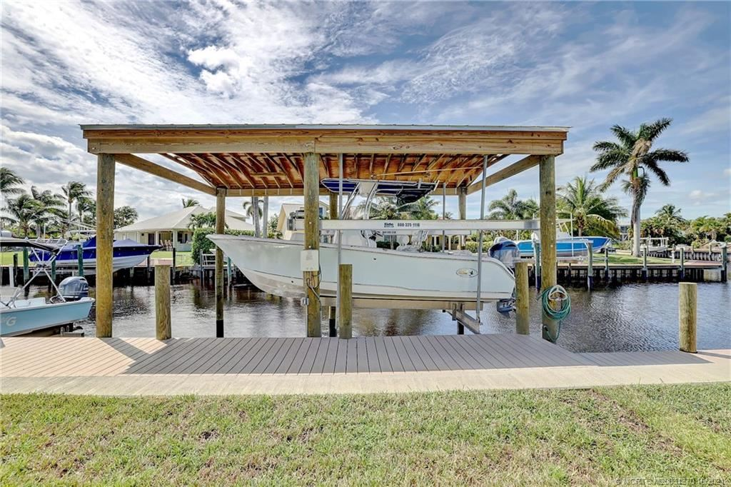 1229 SW Dyer Point Road, Palm City, FL 34990 - #: M20031270