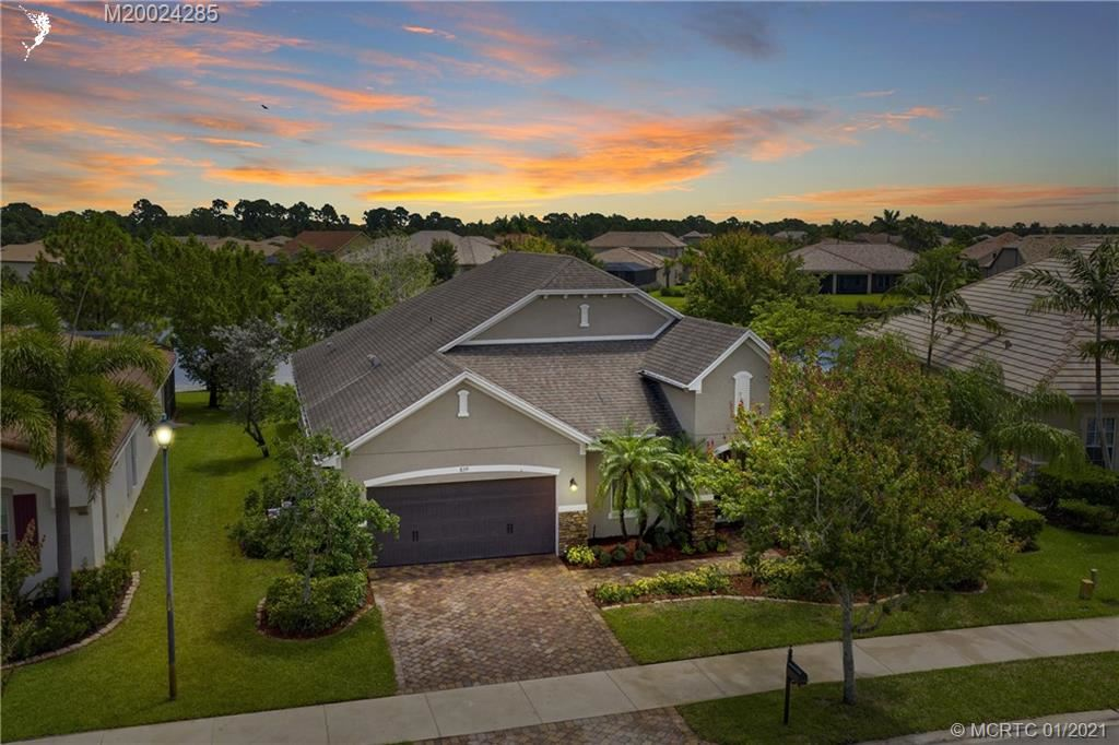 829 SW Sun Circle, Palm City, FL 34990 - #: M20024285