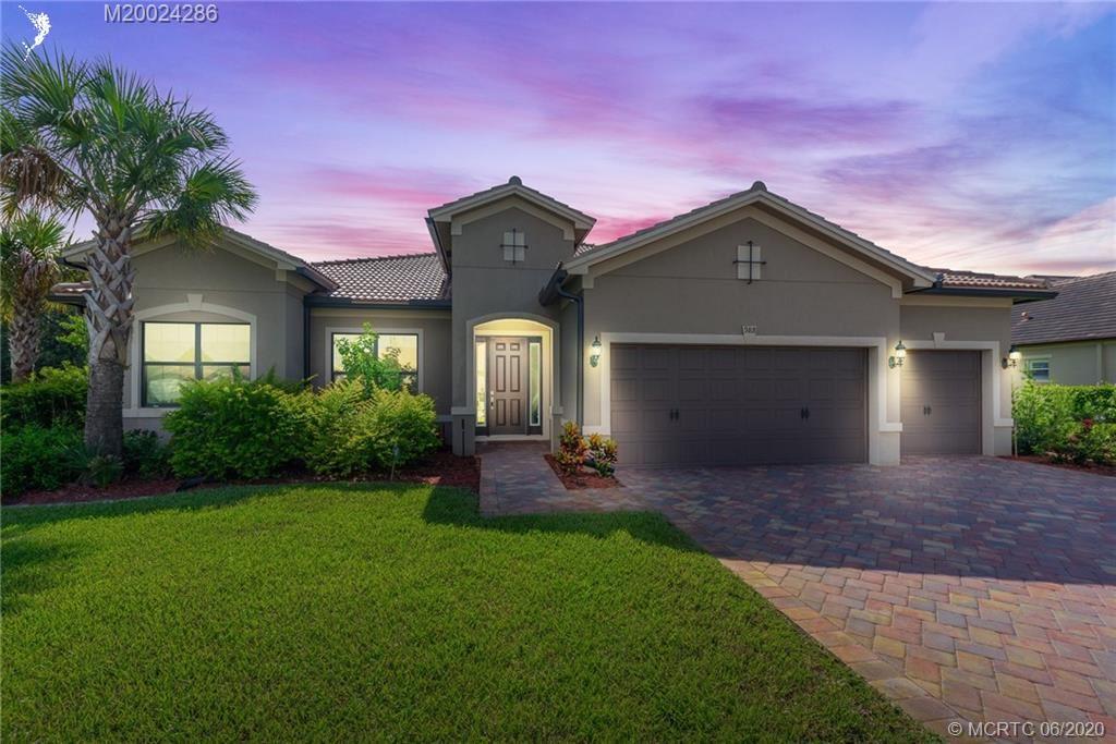 988 SW Sea Green Street, Palm City, FL 34990 - #: M20024286