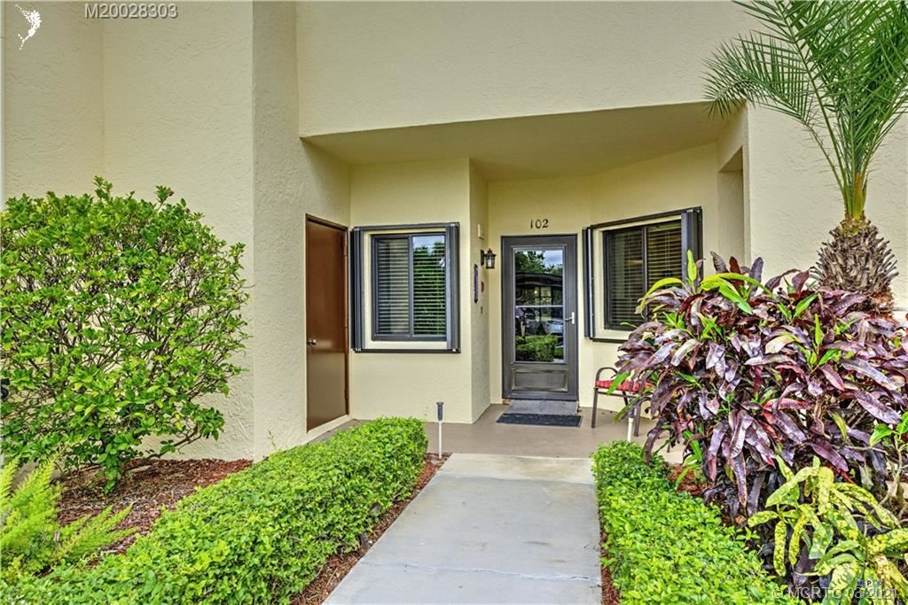 6533 SE Williamsburg Drive #102, Hobe Sound, FL 33455 - #: M20028303