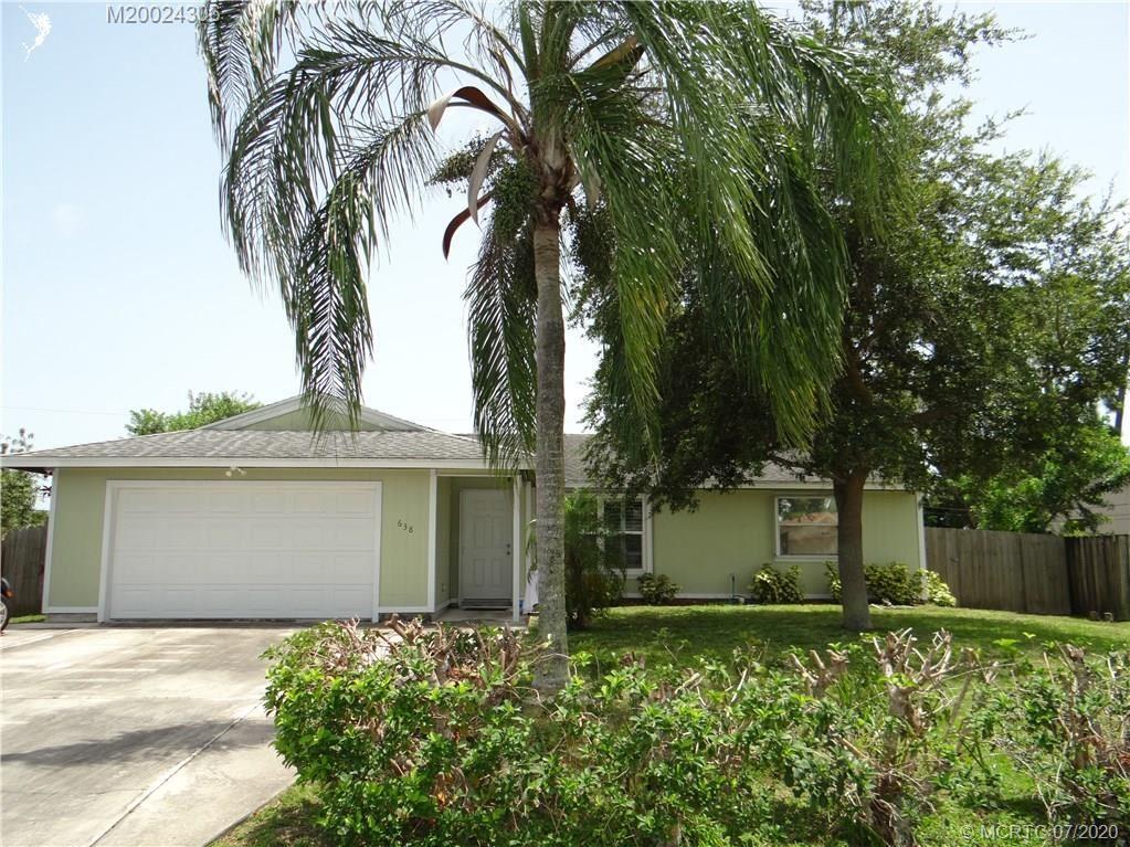638 SW Grove Avenue, Port Saint Lucie, FL 34983 - #: M20024306