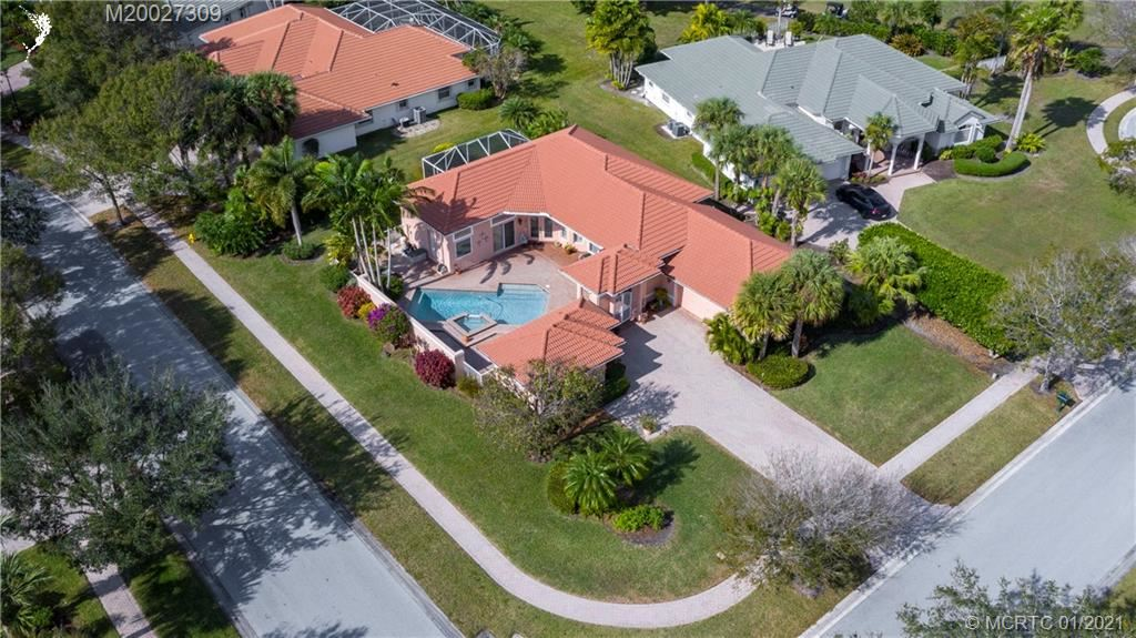 Photo of 4842 SW Golfside Drive, Palm City, FL 34990 (MLS # M20027309)