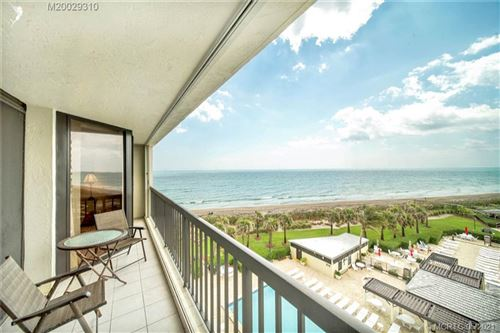 Photo of 9500 S Ocean Drive #608, Jensen Beach, FL 34957 (MLS # M20029310)