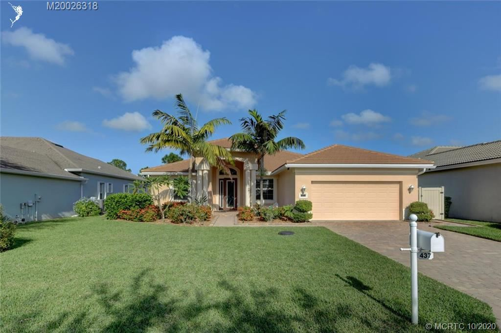 437 NW Sunflower Place, Jensen Beach, FL 34957 - #: M20026318