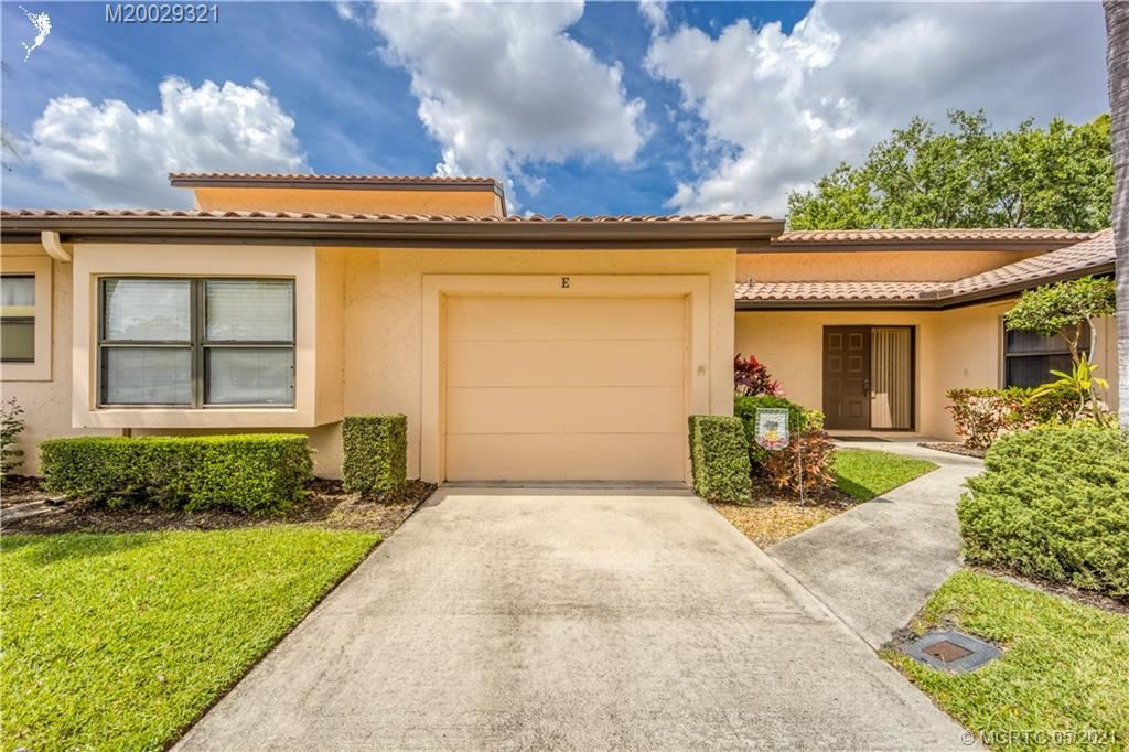 3625 SW Quail Meadow Trail #E, Palm City, FL 34990 - #: M20029321