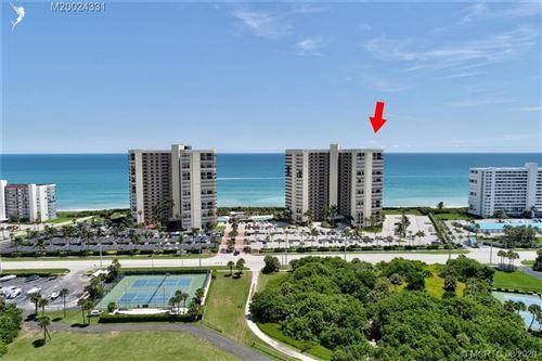 Photo of 9550 S Ocean Drive #409, Jensen Beach, FL 34957 (MLS # M20024331)