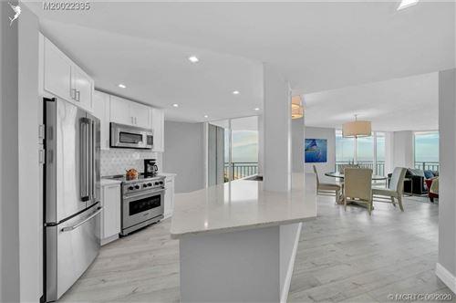 Photo of 9600 S ocean Drive #701, Jensen Beach, FL 34957 (MLS # M20022335)
