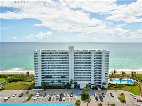 Photo of 9600 S Ocean Drive #307, Jensen Beach, FL 34957 (MLS # M20030336)