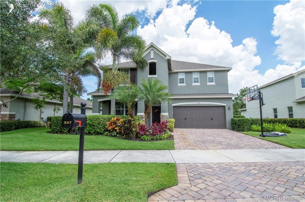 337 SW Sun Circle, Palm City, FL 34990 - #: M20024366