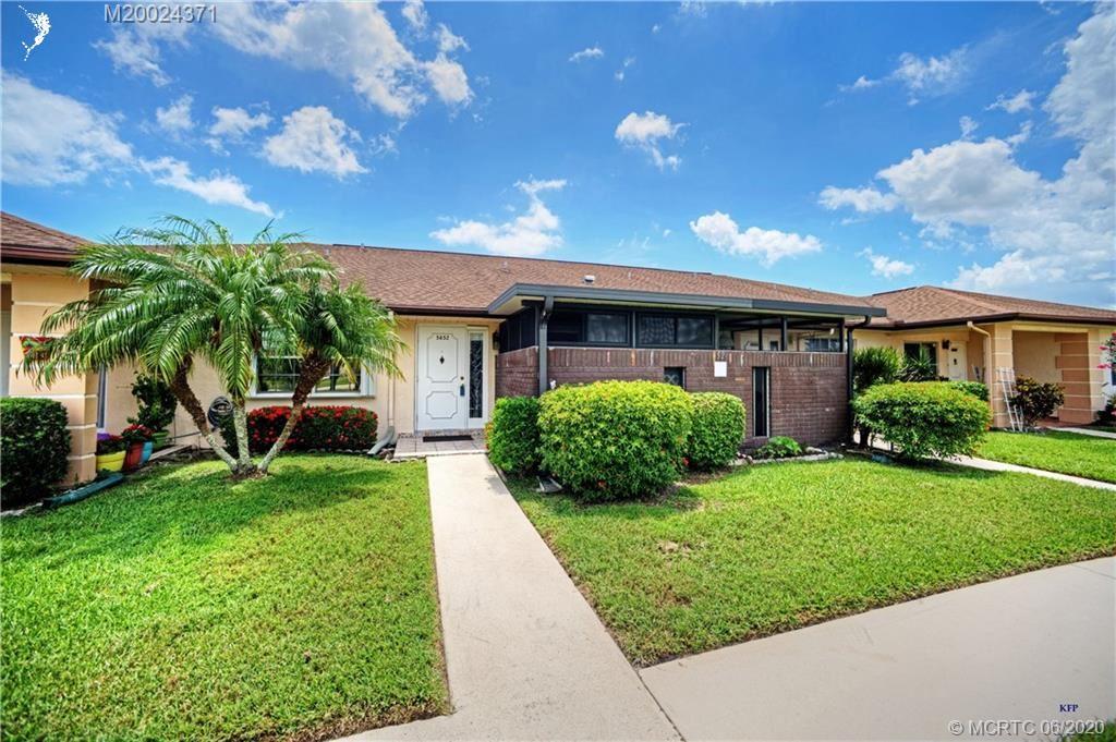5852 Summerfield Court #52B, Fort Pierce, FL 34982 - #: M20024371