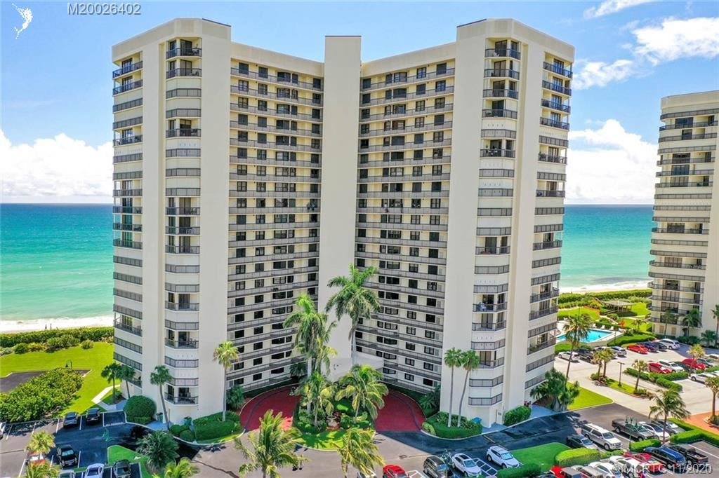 Photo of 9500 S Ocean Drive #407, Jensen Beach, FL 34957 (MLS # M20026402)
