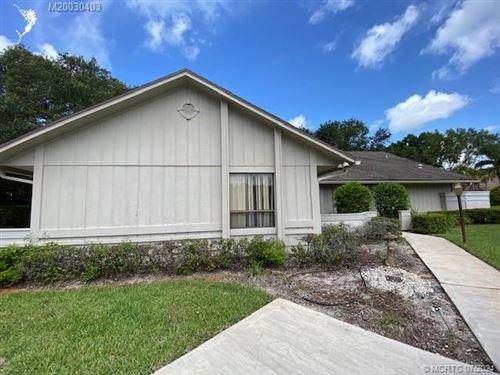 Photo of 2401 SW Racquet Club Drive, Palm City, FL 34990 (MLS # M20030403)