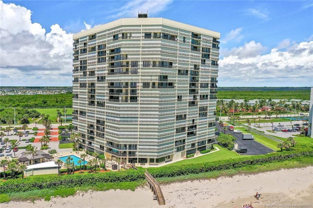 Photo of 9500 S Ocean Drive #710, Jensen Beach, FL 34957 (MLS # M20031406)