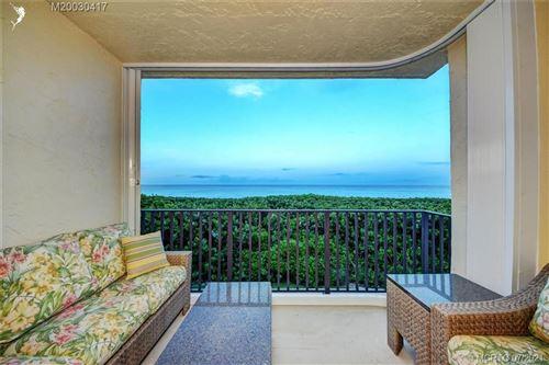 Photo of 7410 S Ocean Drive #209, Jensen Beach, FL 34957 (MLS # M20030417)