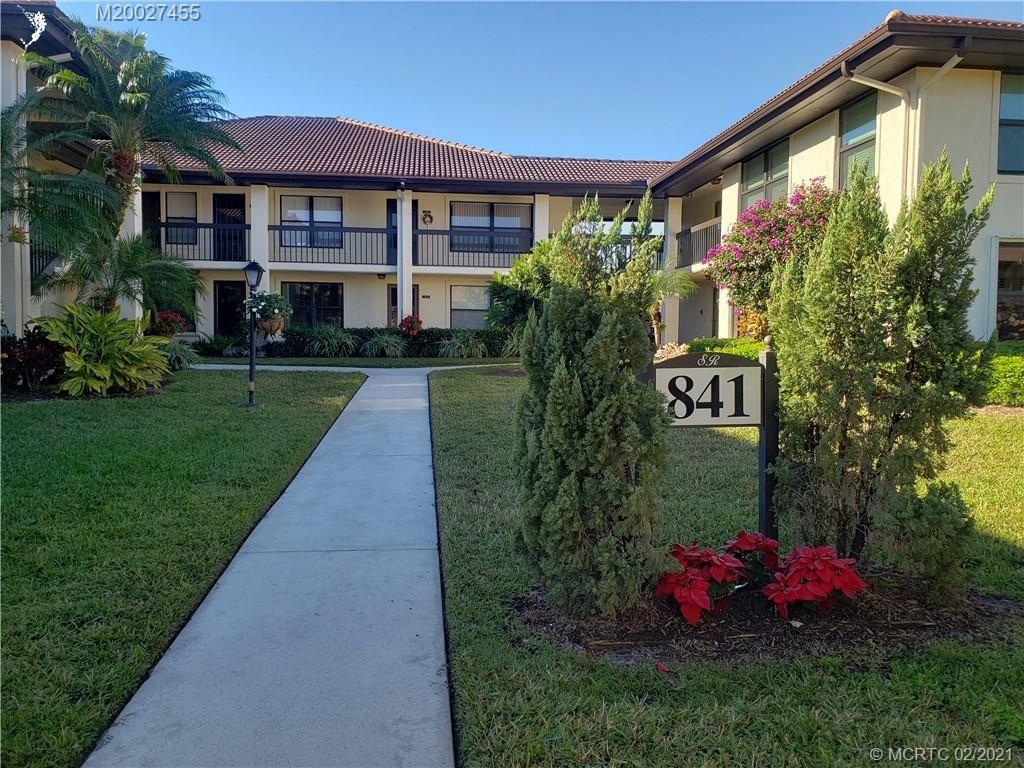 841 SW South River Drive #102, Stuart, FL 34997 - MLS#: M20027455