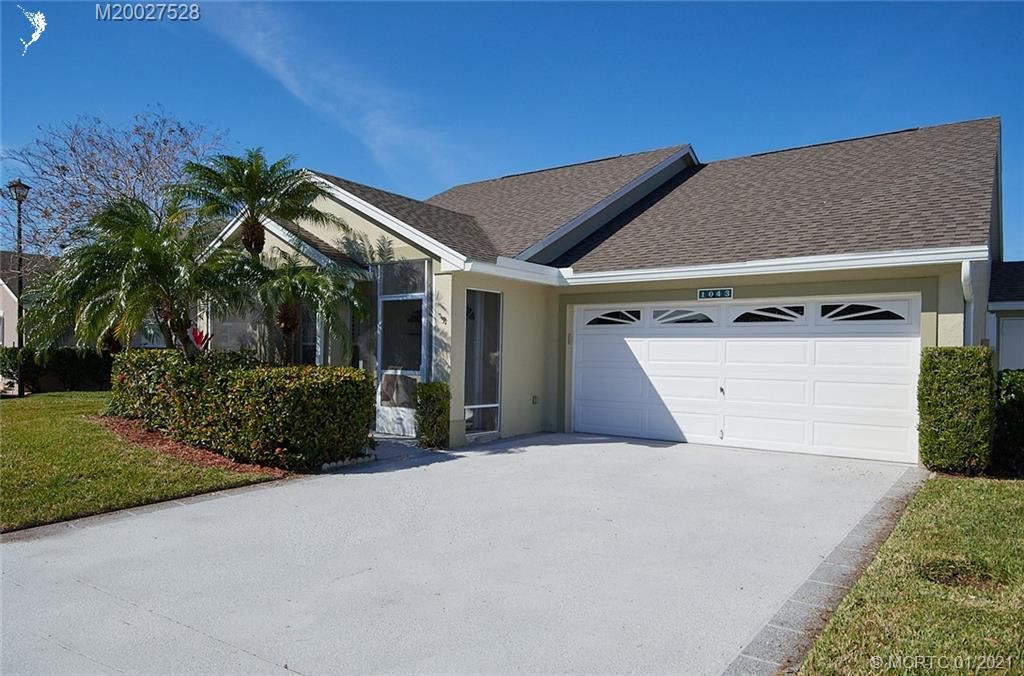 1043 NW Tuscany Drive, Port Saint Lucie, FL 34986 - MLS#: M20027528