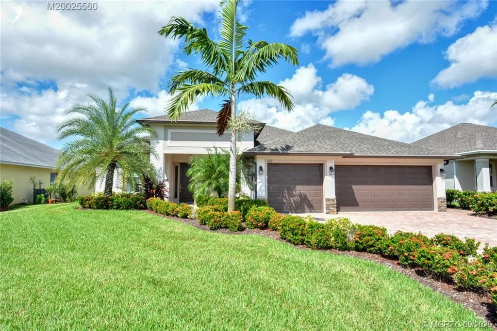 322 SW Vista Lake Drive, Port Saint Lucie, FL 34953 - #: M20025560