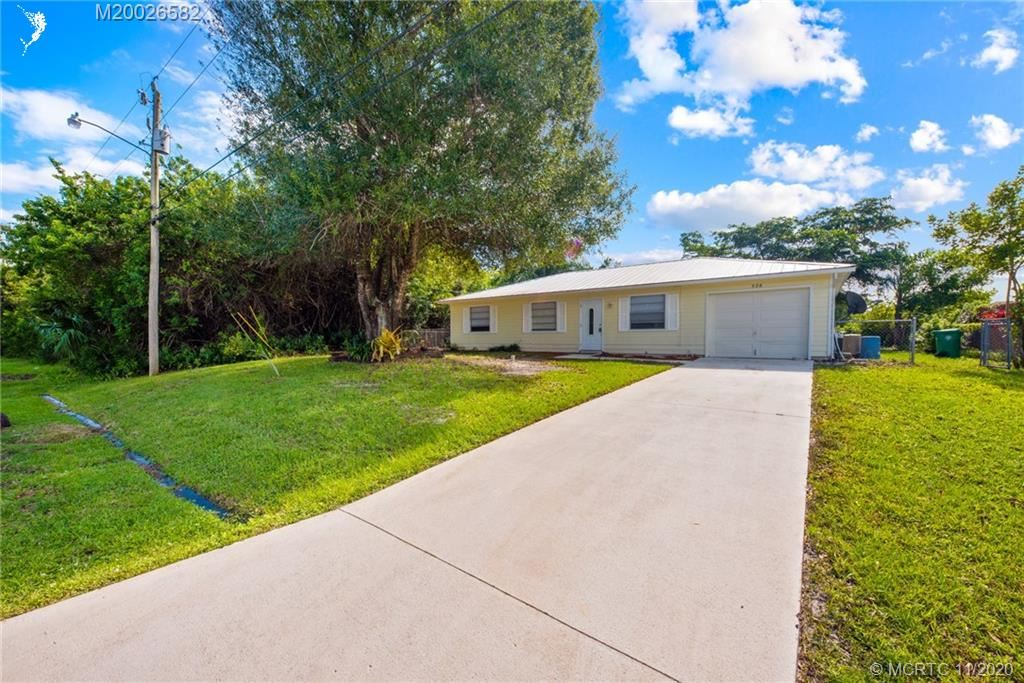 528 SW Ryan Avenue, Port Saint Lucie, FL 34953 - #: M20026582