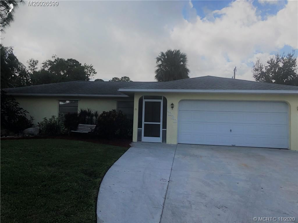 1222 SW Porter Road, Port Saint Lucie, FL 34953 - #: M20026599