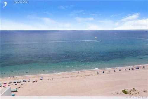 Photo of 3100 N Ocean Drive #P-1205, Singer Island, FL 33404 (MLS # M20030631)
