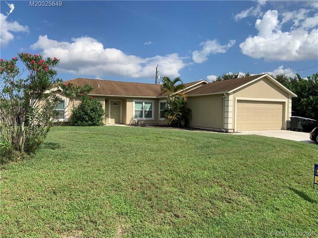 3825 SW Hall Street, Port Saint Lucie, FL 34953 - #: M20025649