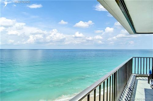 Photo of 9650 S Ocean Drive #2005, Jensen Beach, FL 34957 (MLS # M20030658)