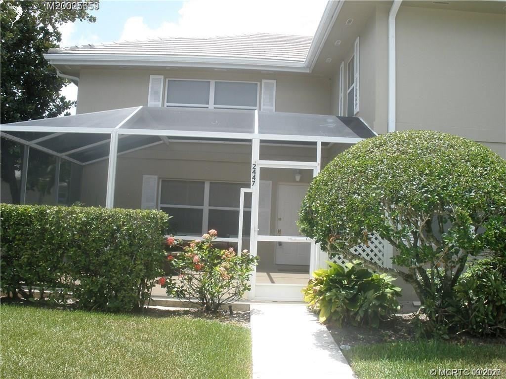 2447 SW Danbury Lane, Palm City, FL 34990 - #: M20025659