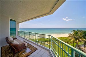 Photo of 8600 S Ocean Drive #406, Jensen Beach, FL 34957 (MLS # M20018665)